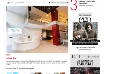 Artículo Revista ELLE.