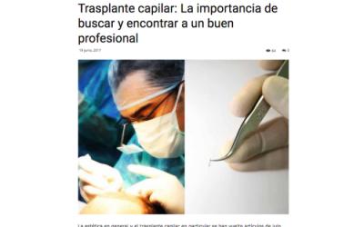 Loottis | Trasplante capilar: La importancia de buscar y encontrar a un buen profesional