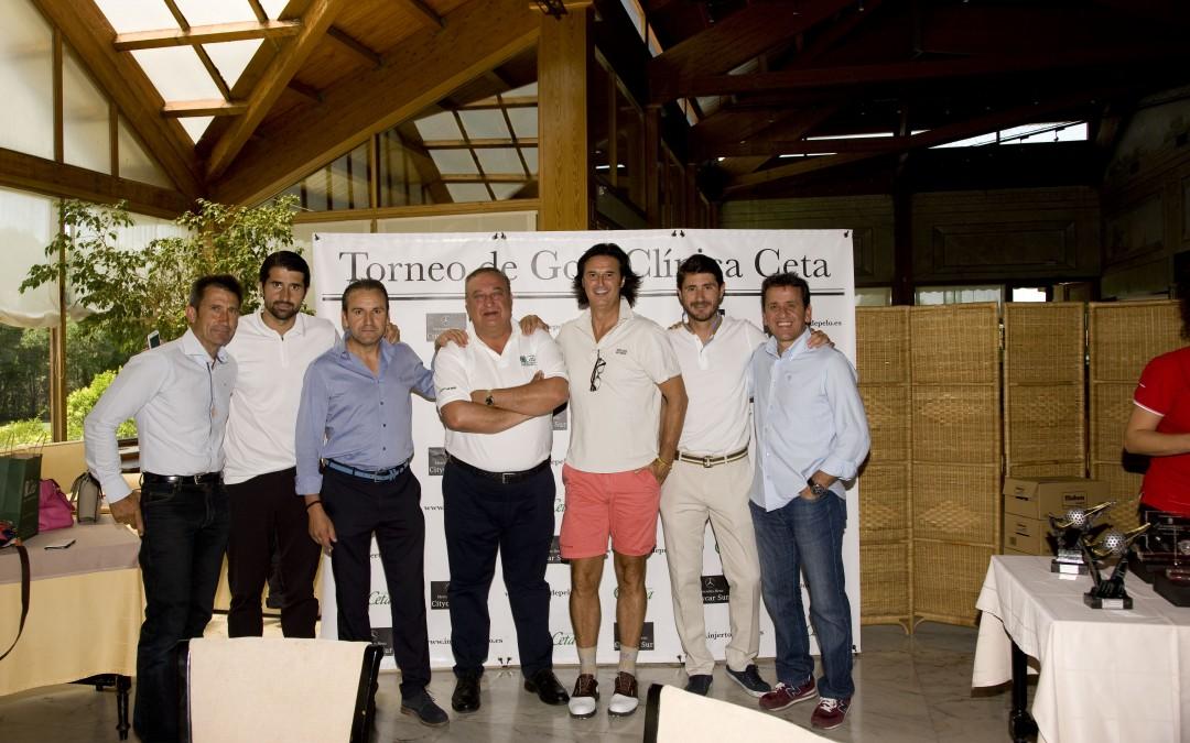 El deporte y las sorpresas volvieron a reinar en el Quinto Trofeo de Golf de Clínicas Ceta