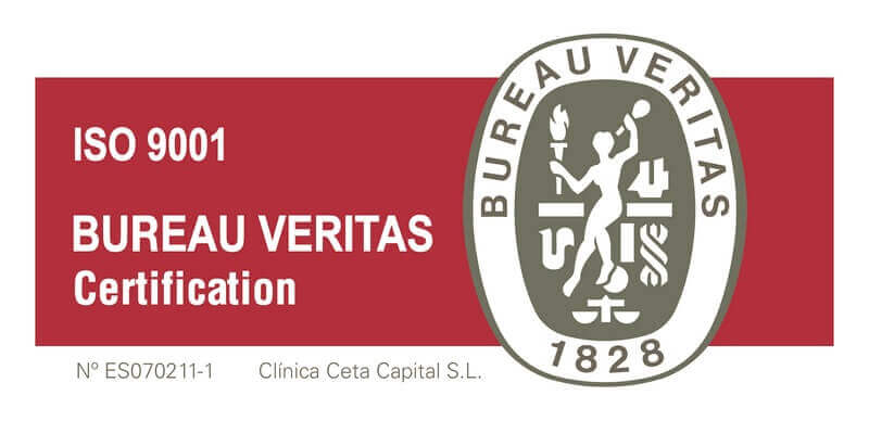 ISO 9001 Clínica Ceta Capital S.L